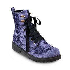 Olivia Miller Rockville Womens Combat Boots