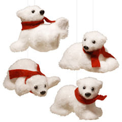 4 PIECE POLAR BEAR ASSORTMENT