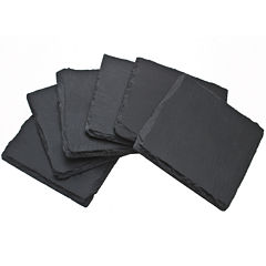Thirstystone® Plain Slate Set of 6 Coasters