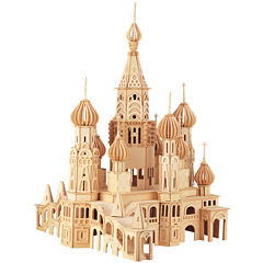 Puzzled St. Petersburg Church Wooden Puzzle