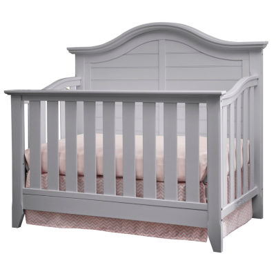 thomasville kids southern dunes lifestyle 4in1 convertible crib pebble gray - Convertible Baby Cribs