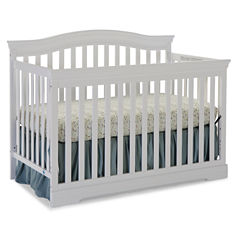 Broyhill Kids Bowen Heights 4-in-1 Convertible Crib - White