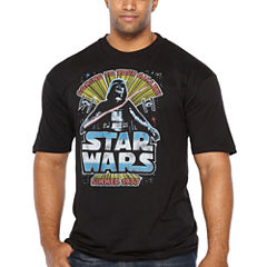 Star Wars Summer Seventy Short Sleeve Graphic T-Shirt-Big and Tall