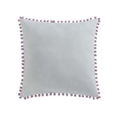 Laura Hart Kids Unicorn Princess Pom Throw Pillow