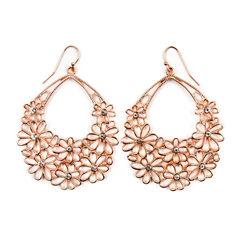 Decree Clear Drop Earrings