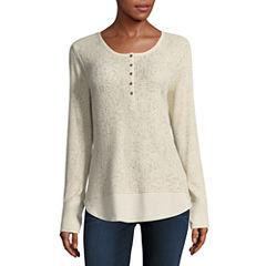 Columbia Sportswear Co. Long Sleeve Henley Shirt
