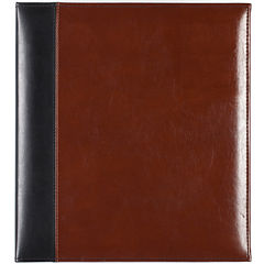 2-Tone Leather Magnetic Photo Album