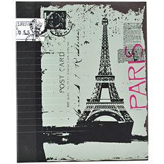 Ring-Bound Eiffel Tower Photo Album
