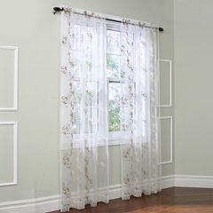 Josephina Sheer Rod-Pocket Curtain Panel