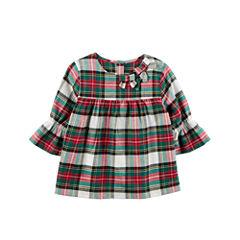 Carter's 3/4 Sleeve Babydoll Top - Preschool Girls