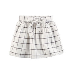 Carter's Plaid Woven Pleated Skirt - Preschool Girls