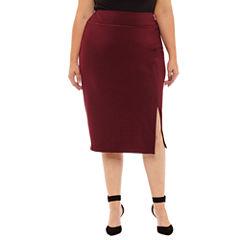 Worthington Pencil Skirt Plus