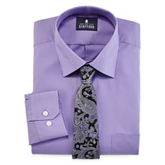 Stafford® Easy-Care Dress Shirt & Tie  Set