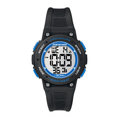 Marathon by Timex® Black Resin Strap Digital Watch TW5K84800M6