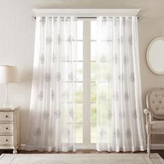 Massa Grommet-Top Curtain Panel
