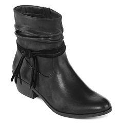 Yuu™ Prinse Slip-On Ankle Booties