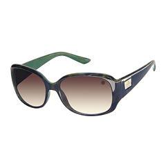 nicole by Nicole Miller® Burke Rectangle Sunglasses