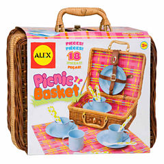 Alex Toys Picnic Basket 18-pc. Play Food