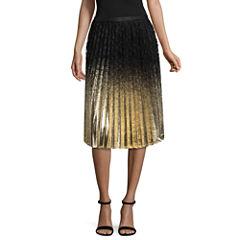 Worthington Woven Pleated Skirt