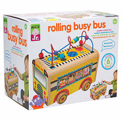 ALEX TOYS Alex Jr Rolling Busy Bus Interactive Toy - Unisex