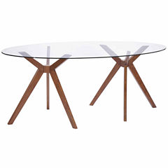 Zuo Modern Buena Vista Oval Dining Table