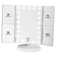 Jerdon Multi-Magnification LED Lighted Mirror