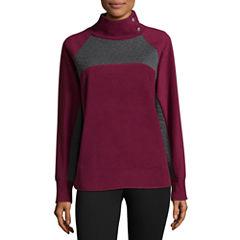 St. John's Bay Active Long Sleeve Sweatshirt-Talls