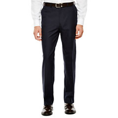 IZOD® Navy Plaid Suit Pants - Classic Fit
