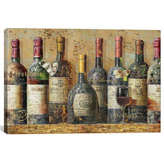 Wine Collection I by NBL Studio Canvas Wall Art