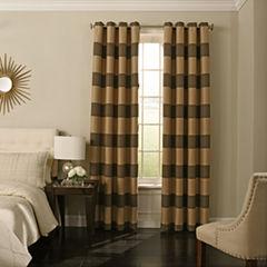 Beauty Rest Gaultier Blackout Grommet-Top Curtain Panel