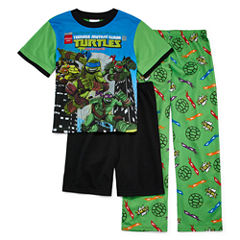 Teenage Mutant Ninja Turtles 3-pc. Pajama Set- Boys