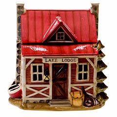 Certified International Lake Life Cookie Jar