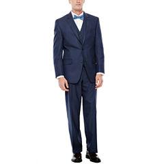 IZOD® Navy Sharkskin Suit Separates - Classic Fit