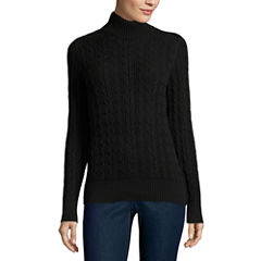 St. John's Bay Turtleneck Sweater- Talls