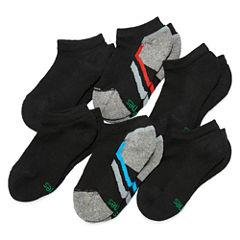 Hanes Xtemp 6 PK Low Cut Socks - Boys