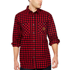 Walls Thurber-Vintage Long Sleeve Flannel Shirt