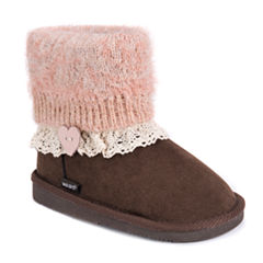 MUK LUKS® Patti Girls Boots - Little Kids