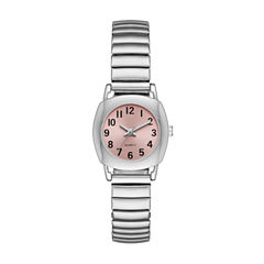 Womens Silver Tone Expansion Watch-Fmdjo117