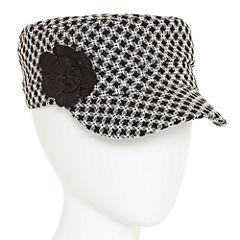 Colombino Headwear Inc Knit Flower Cadet Hat