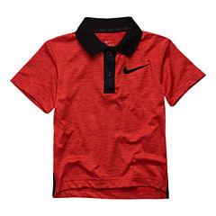 Nike Short Sleeve V Neck Polo Boys