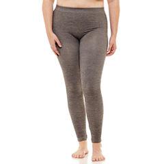 Fleece Lined Leggings-Juniors Plus