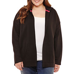 Flirtitude Cozy Cardigan- Juniors Plus