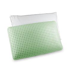 Authentic Comfort® Green Tea Jumbo Memory Foam Pillow