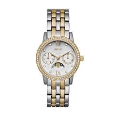 Relic Womens Silver Tone Bracelet Watch-Zr15916