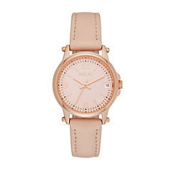 Relic Womens Pink Strap Watch-Zr34382