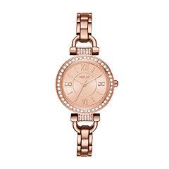 Relic Womens Rose Goldtone Bracelet Watch-Zr34415