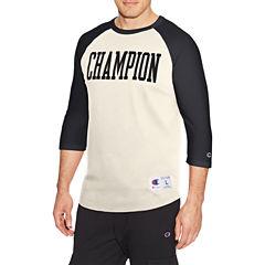 Champion Heritage 3/4 Sleeve Crew Neck T-Shirt-Athletic