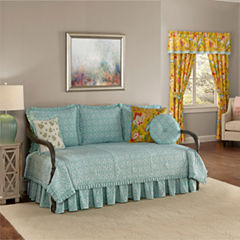 Waverly Modern Poetic Floral Daybed Cover