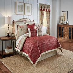 Waverly Fresco Flourish 4-pc. Floral Reversible Comforter Set