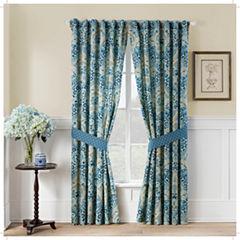 Waverly Moonlit Shadows Rod-Pocket Curtain Panel
